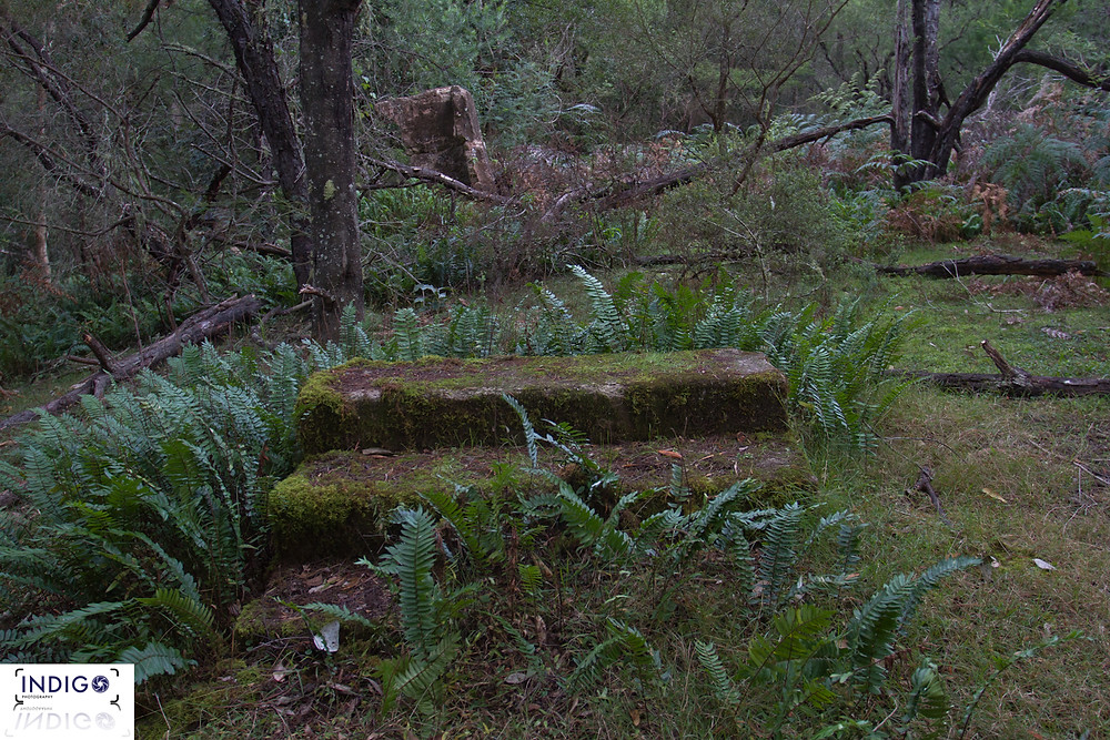 sadly this is all that remains of the ruins today