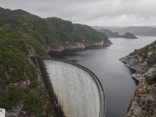 Gordon Dam Strathgordon South/ West Tasmania