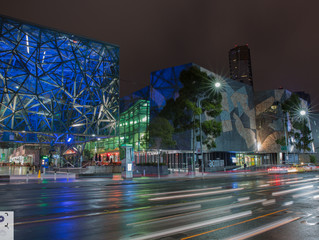 Melbourne by Night / The Most livable City Shows of its character after Sunset
