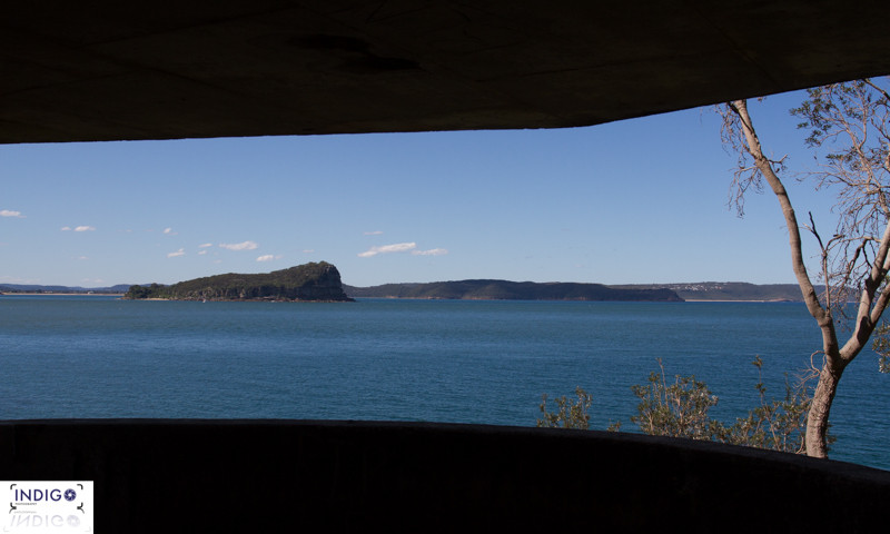 West Head Fort looking out to the Central Coast