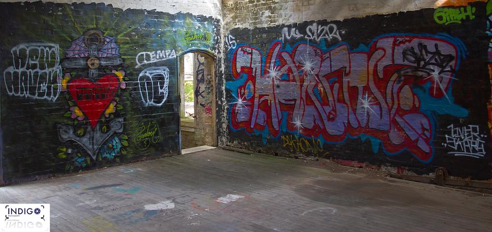 One of the many Graffiti Walls