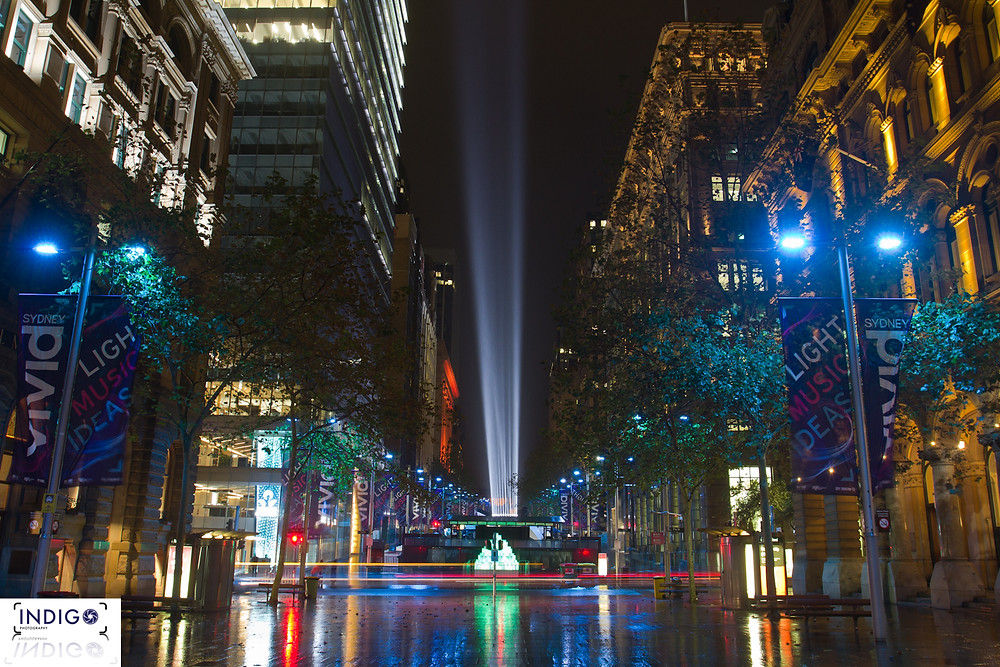 Martin Place doing her thing