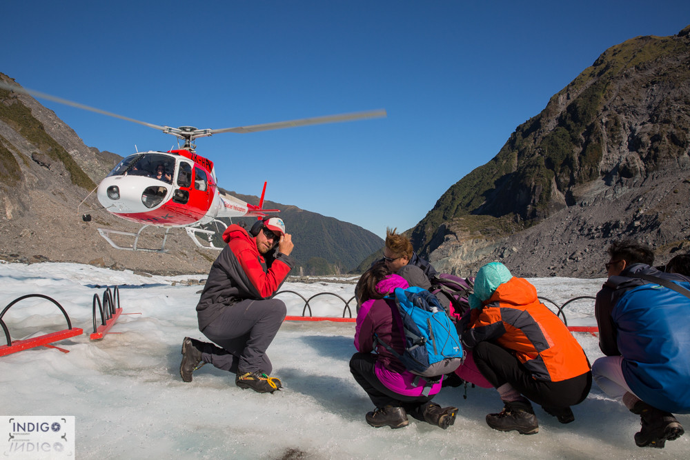 Fox Glacier guides Heli Hike