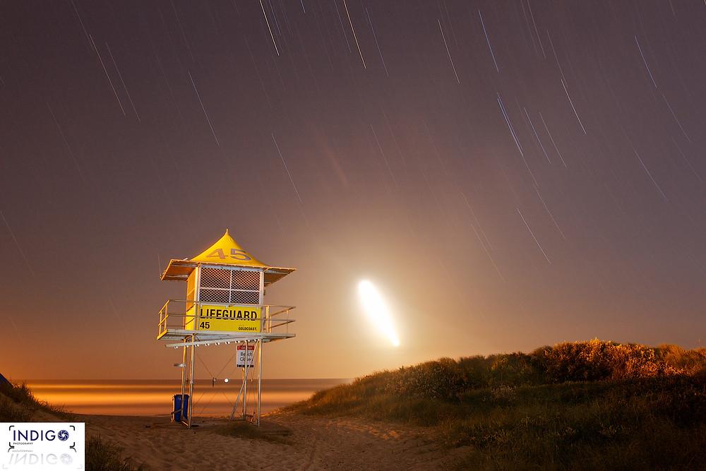 Midnight Hour Star Trails