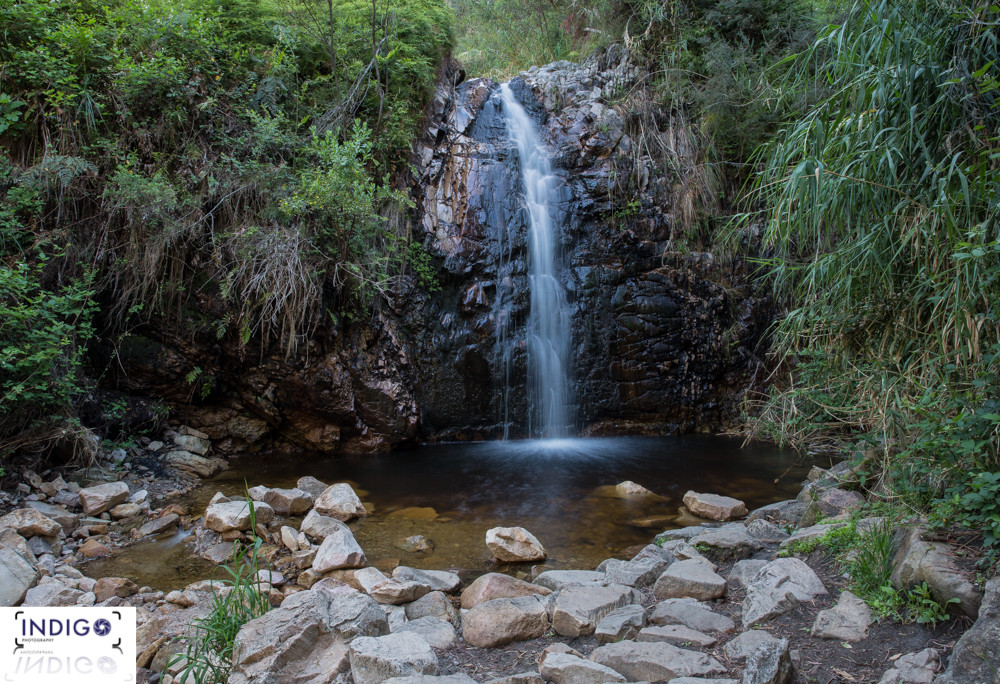 Second Waterfall at Waterfall Gully