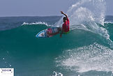 Fillipe Toledo 3rd round of the Qquiksilver Pro first stop of the WSL CT