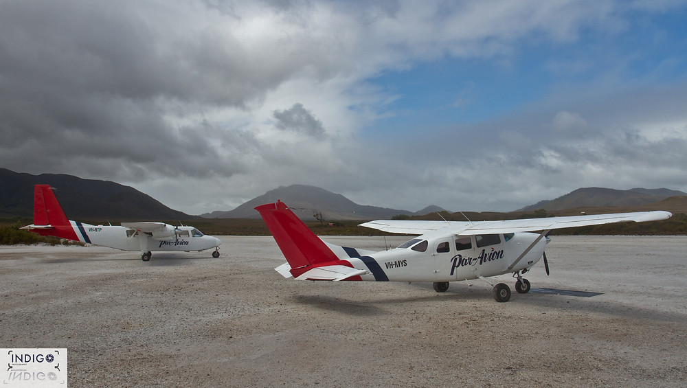 Malaleuca Air Strip - The Start (85kms) of the South Coast Track / Tasmania