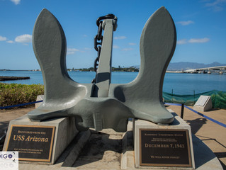 Pearl Harbour WW2 Memorial Oahu Hawaii