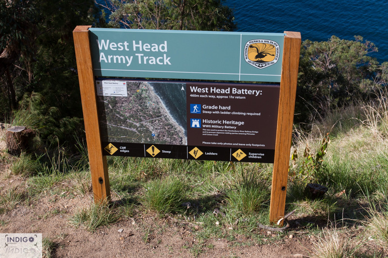 Army Track - West Head