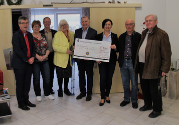 1000 € für das Coburger Hospiz