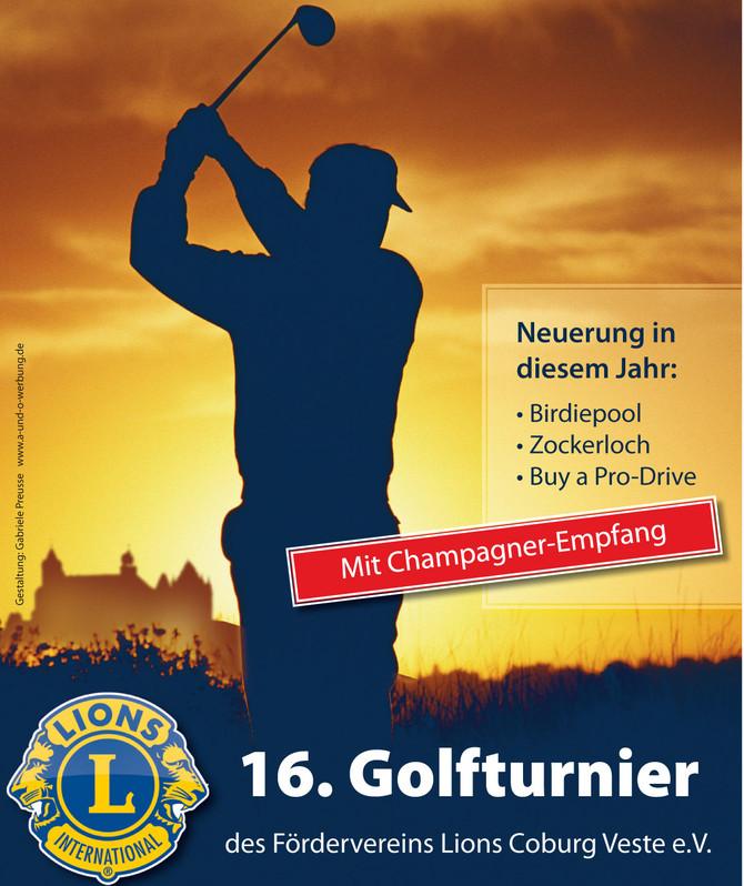 Einladung zum Golfturnier am 18. September 2021