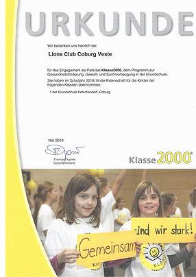 Urkunde-Klasse2000-Ketschendorf-2018_19.