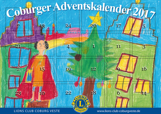 Der Coburger Adventskalender 2017