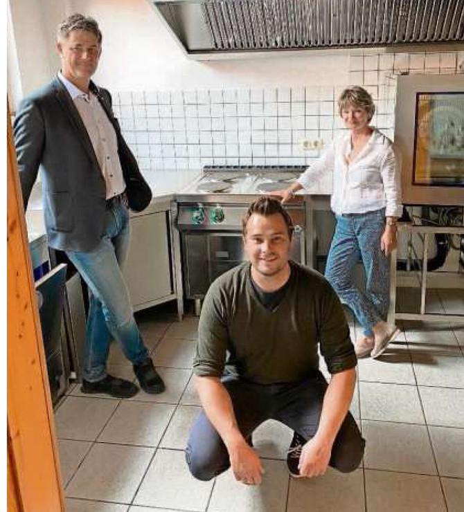 Neue Küche für das DOMINO.