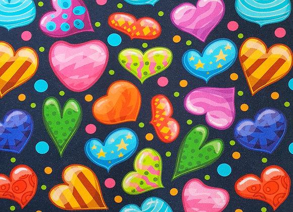 Trikåtröja Happy Hearts