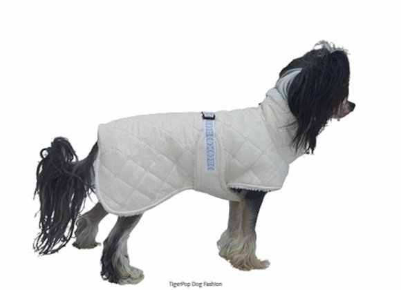 Hundtäcke Teddie Off-White