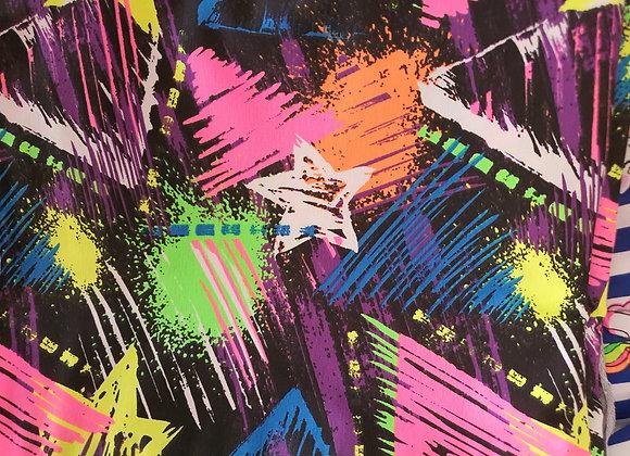 Trikåoverall Neon Stars