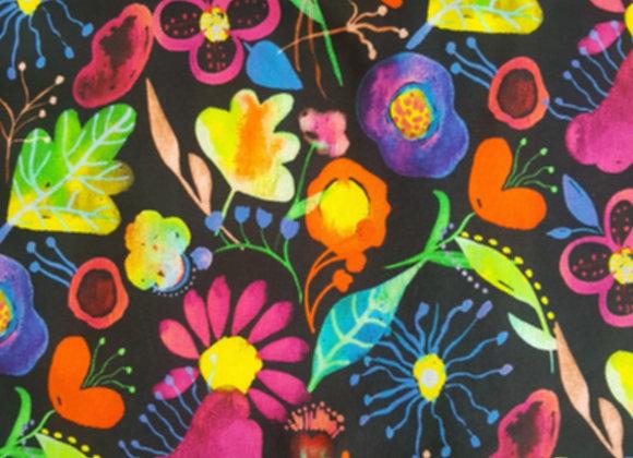 Trikåoverall Flowers