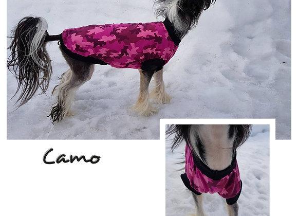 Trikåtröja Pink Camo