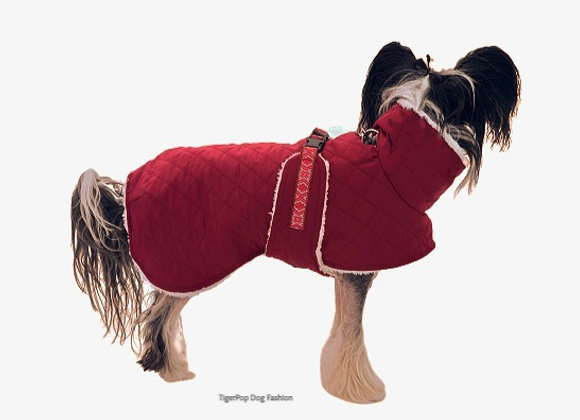 Hundtäcke Teddie Warm Red