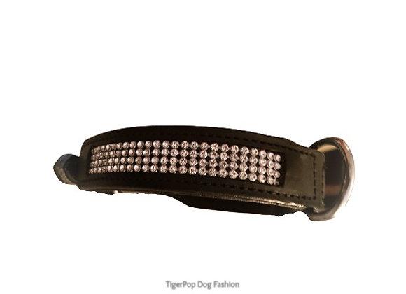 Hundhalsband Bling