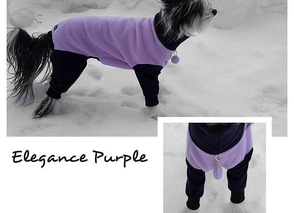Fleeceoverall Elegance Purple