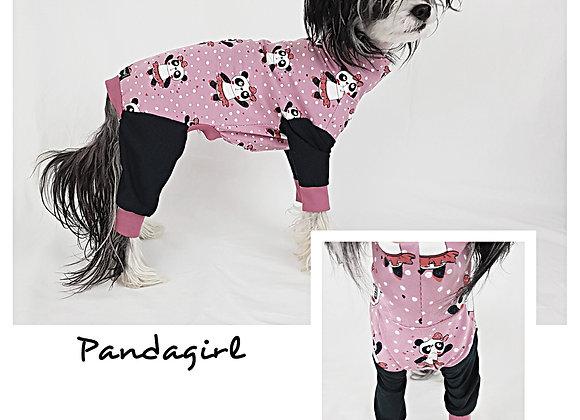 Trikåoverall Pandagirl WWF