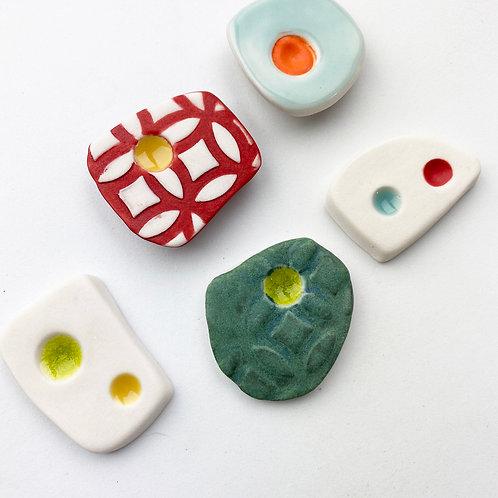 Mid century modern fridge magnets Group 3