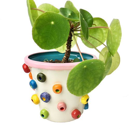 Ceramic Froot Loop Planter
