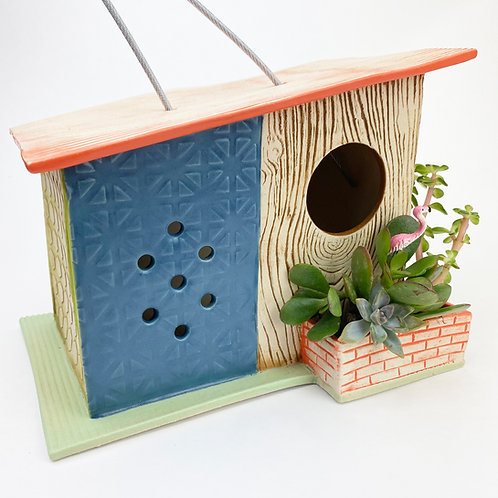 Ross-o-Rama Mid Century Modern Bird House