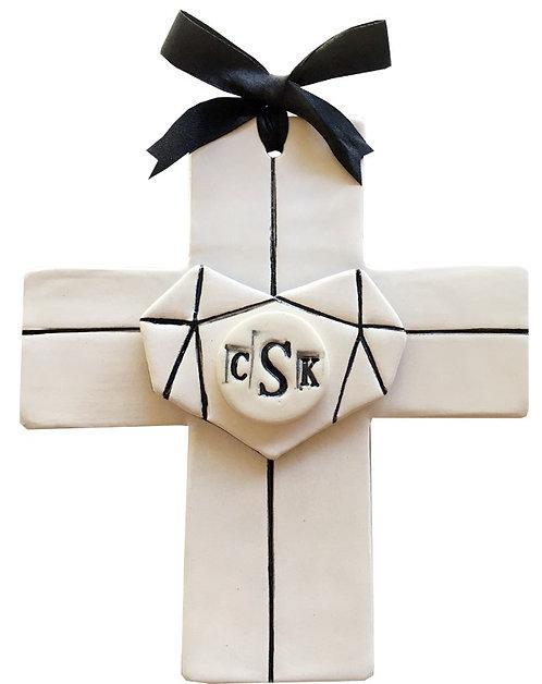 Ceramic Heart Cross (Bobert's Cross) Custom Made