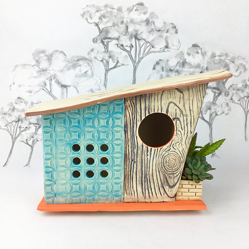 Mod Mod Mid Century Modern Birdhouse