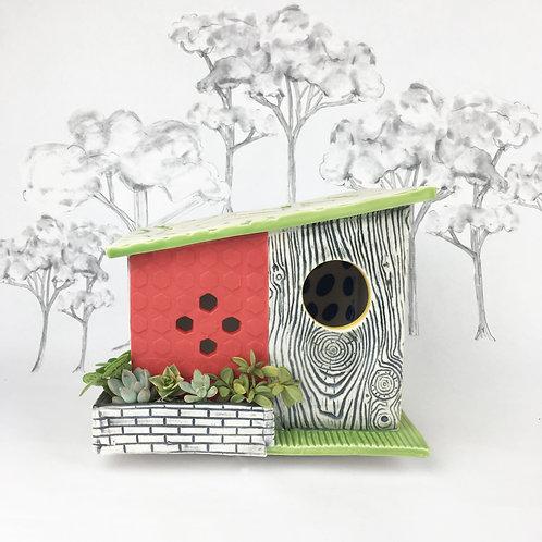 Texarama Mid Century Modern Bird House