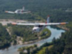 Aereo in volo - Aero Club Biella