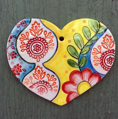 Ceramic Heart (Sari)