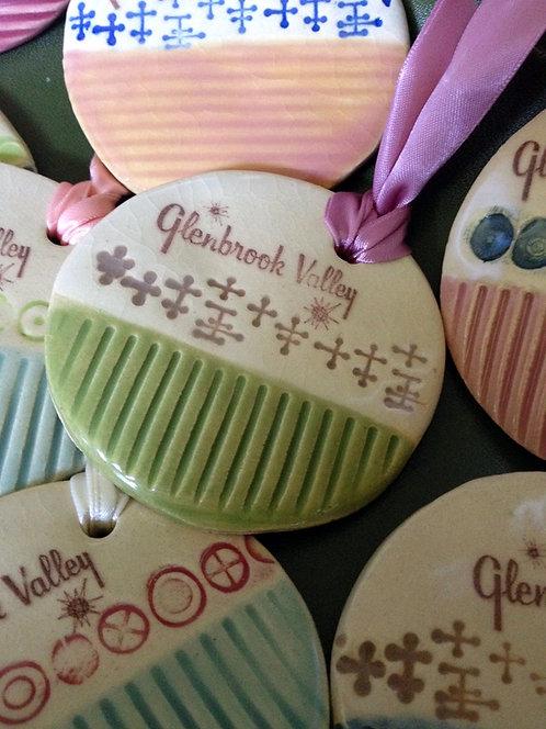 Ceramic Christmas Ornament  (Glenbrook Valley Subdivision)