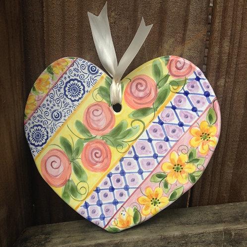 Ceramic Heart (Garden Gate)