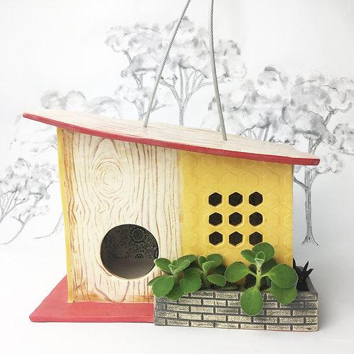 Palm Lodge Mid Century Modern Birdhouse