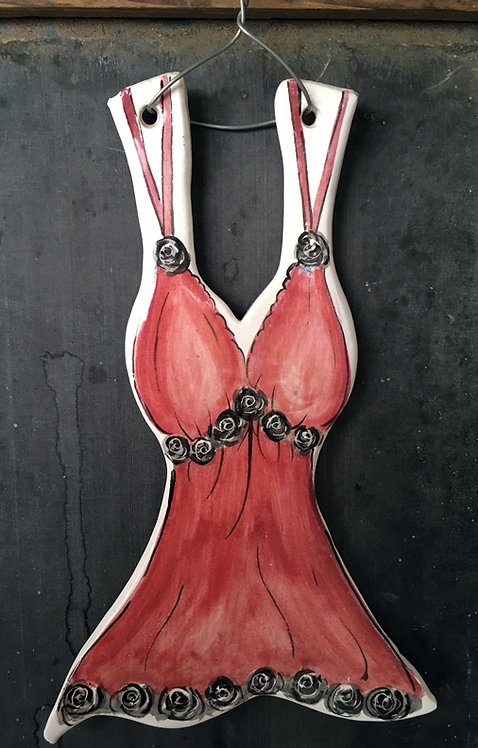 Ceramic Chemises Lingerie (Crimson Dreams)