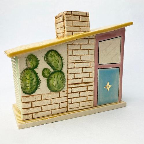 MCM Pear Cactus House Incense Burner
