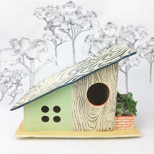 Atomic Villa Mid Century Modern Birdhouse