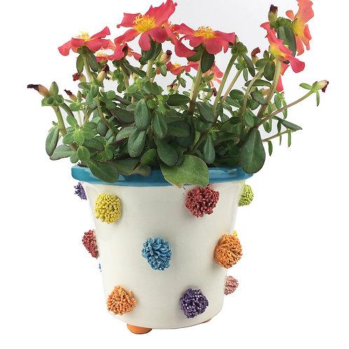 Ceramic Pom Pom Planter