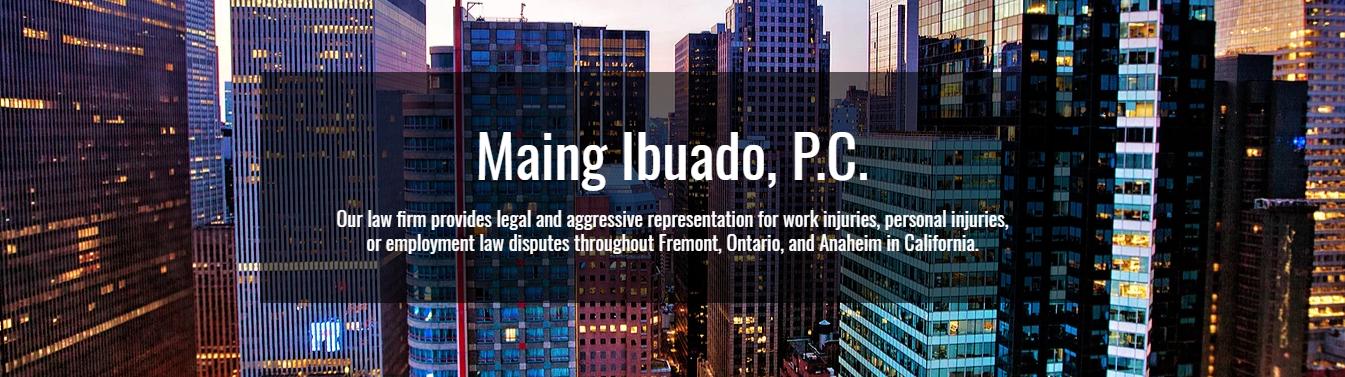 Attorneys At Law | Ontario, CA | Maing Ibuado, P C