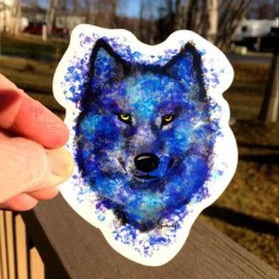 Blue Hunter waterproof sticker