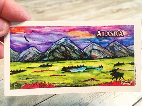 AWAICn'd AK waterproof sticker