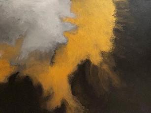 """24""""x48"""" acrylic on canvas"""