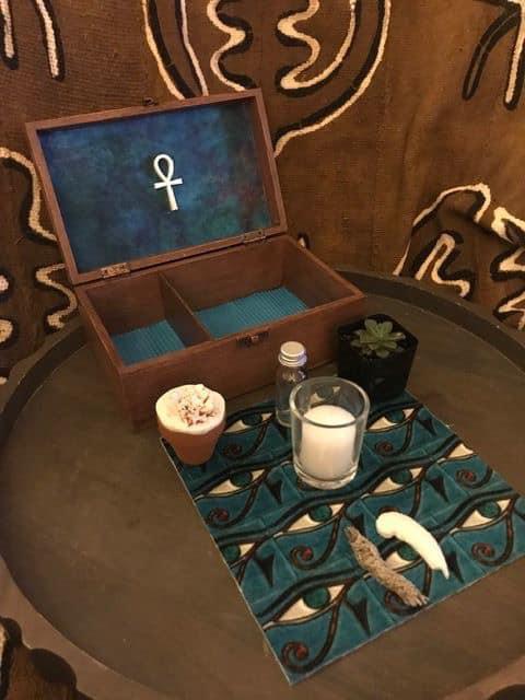 Brown Travel Altar