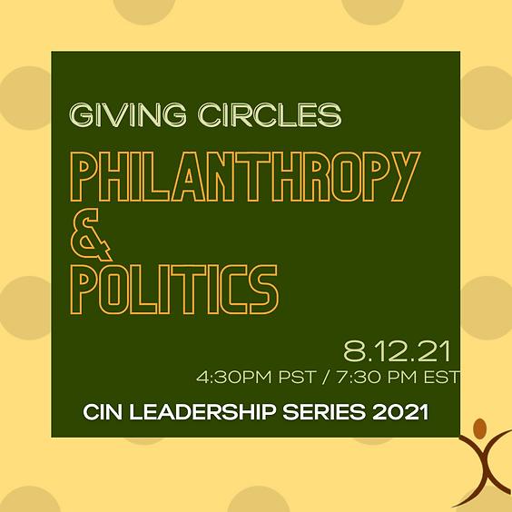 Philanthropy & Politics