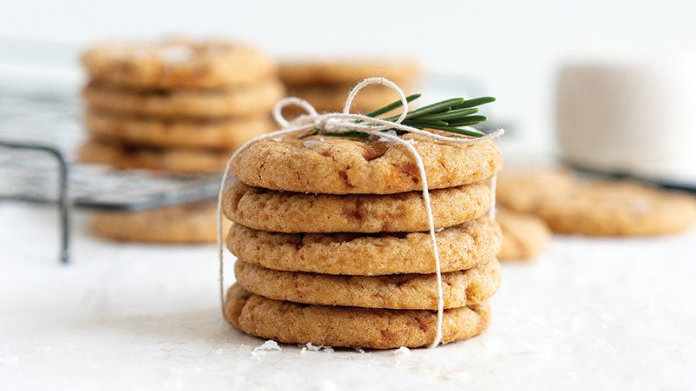 Vegan Salted Caramel Snickerdoodles