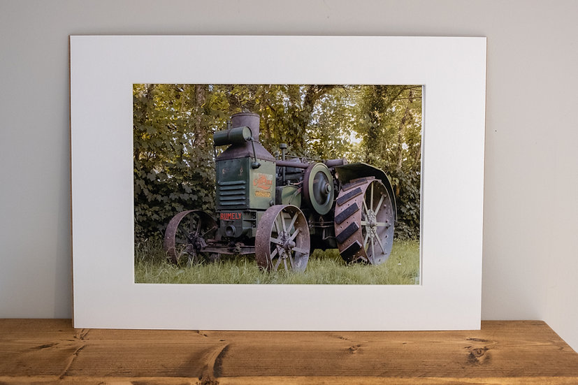 Classic Rumely - Photographic Print